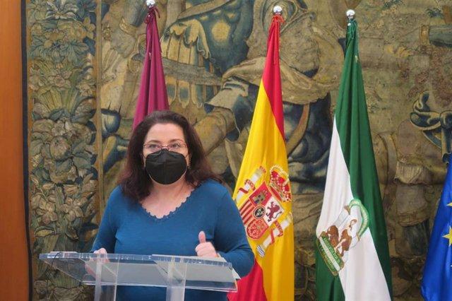 Archivo - La concejala del Grupo Municipal Socialista en el Ayuntamiento de Córdoba Alicia Moya.