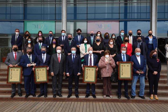 Celebración del Día de Andalucía en la Diputación con la entrega de las distinciones ''M de Málaga'