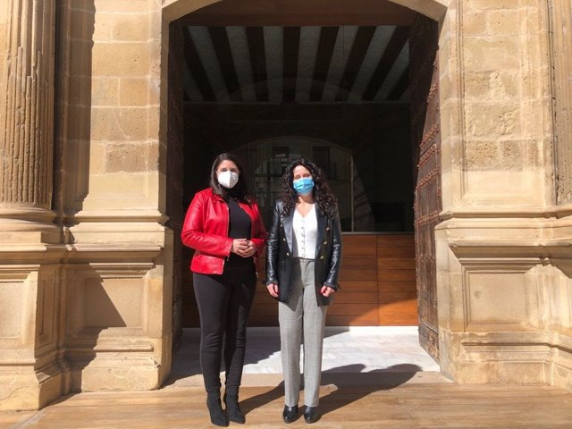 La portavoz de Ciudadanos en el Ayuntamiento de Baeza (Jaén), María Dolores Galiano.