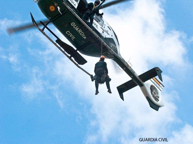 Archivo - Rescate de la Guardia Civil (Foto de archivo).