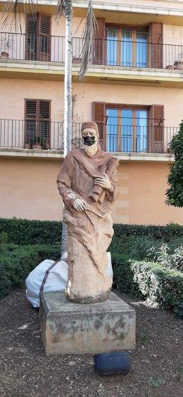 Estatua de Jafuda Cresques en Palma