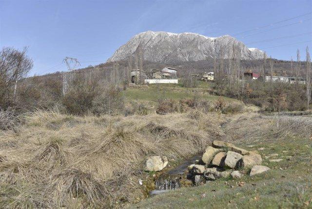 Municipio pirenaico de Torre La Ribera, en la provincia de Huesca.