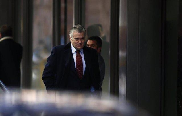 Archivo - El ex tesorero del PP, Luis Bárcenas llega a la Audiencia Nacional
