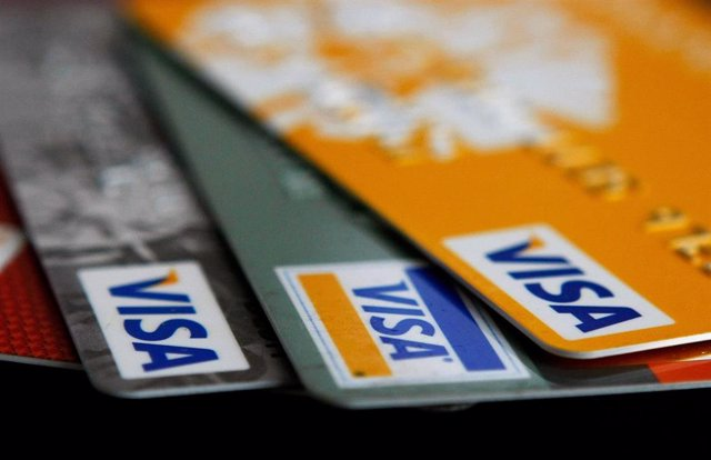 Archivo - Tarjetas de crédito de Visa