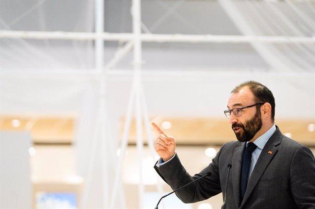 Archivo - Manuel Giménez, consejero de Economía y Empleo de la Comunidad de Madrid