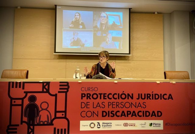 Inauguración del curso para garantizar el acceso a la Justicia en condiciones de igualdad de personas con discapacidad del Consejo General de la Abogacía Española y CERMI