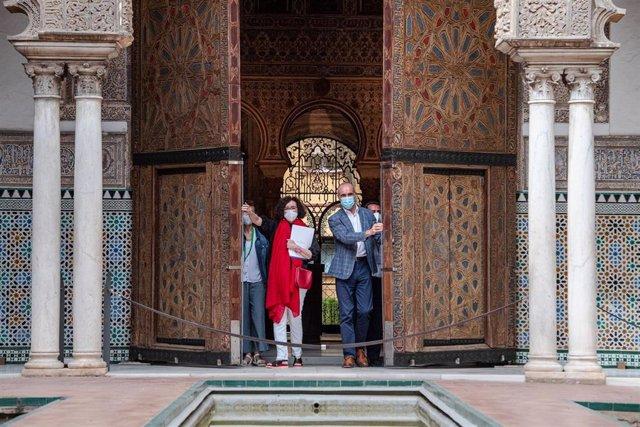 Archivo - El Alcázar de Sevilla cierra con 513.285 visitantes y un 12,3% de sevillanos un año condicionado por la pandemia