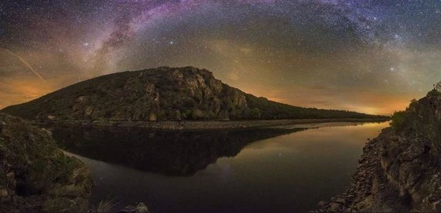 Astroturismo en Monfragüe.