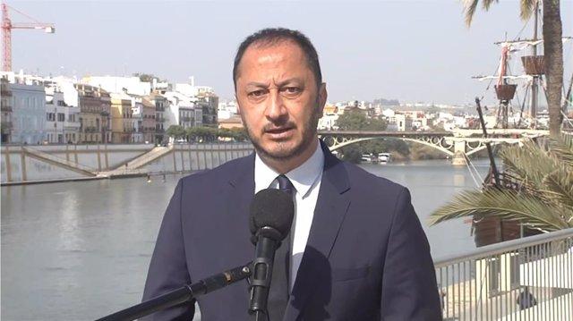 El secretario de Relaciones Institucionales del PSOE y vicepresidente Primero del Congreso de los Diputados, Alfonso Rodríguez Gómez de Celis