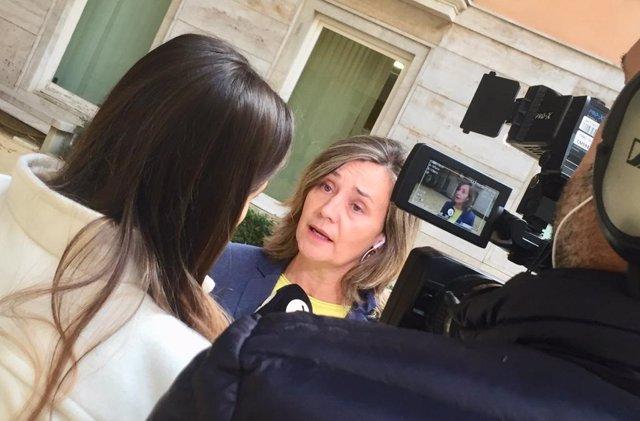 Archivo - La vicesecretaria regional del Partido Popular de la Comunitat Valenciana, Elena Bastidas.