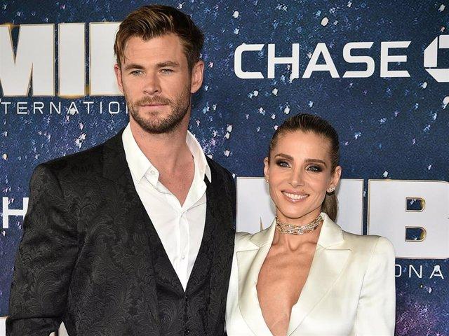 Archivo - Chris Hemsworth y Elsa Pataky