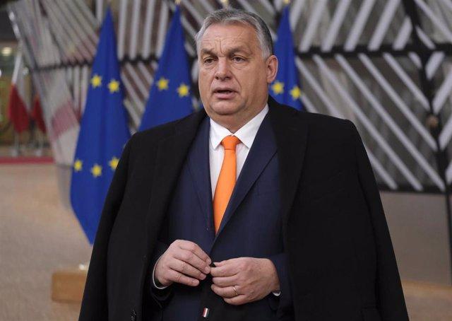 Archivo - Viktor Orbán, primer ministro de Hungría