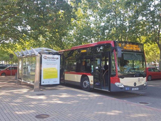 Autobús línea 3 de Logroño