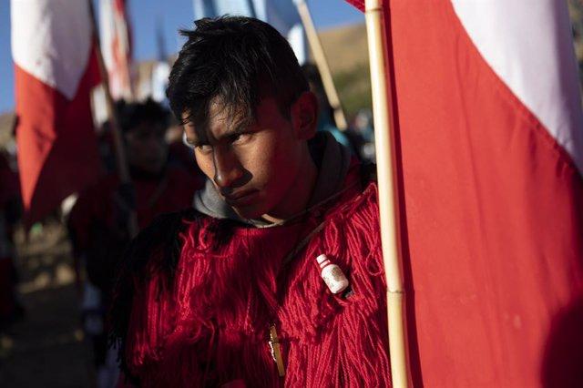 Archivo - Indígenas peruanos en una imagen de archivo