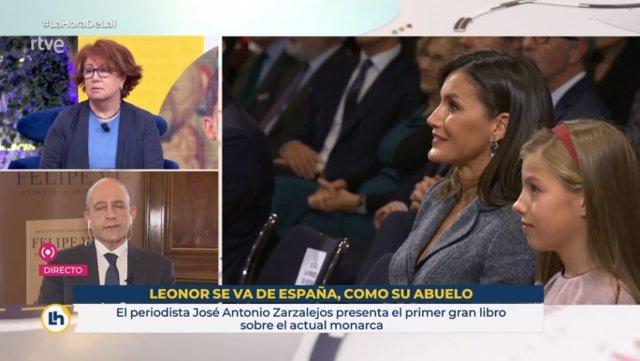 El polémico rótulo emitido en 'La Hora de La 1' el pasado 10 de febrero