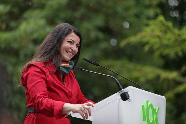 La portavoz adjunta de Vox en el Congreso, Macarena Olona