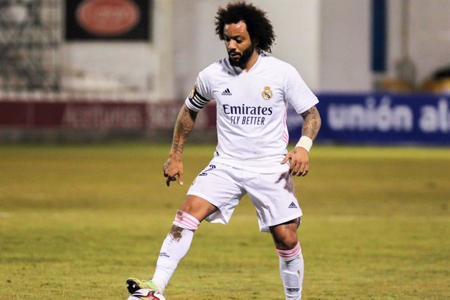 Archivo - Marcelo Vieira of Real Madrid CF in action during the spanish cup, Copa del Rey football match played between CD Alcoyano and Real Madrid at El Collao stadium on January 20, 2021 in Alcoy, Alicante, Spain.