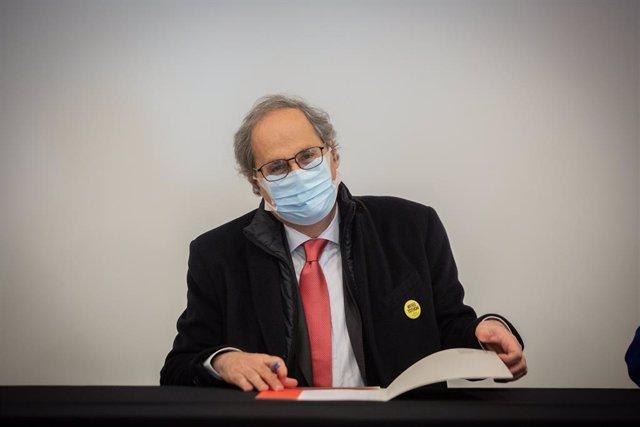 Archivo - Arxiu - L'expresident de la Generalitat Quim Torra