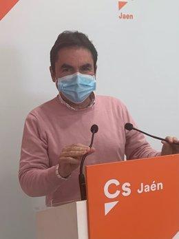 El coordinador de Ciudadanos en la provincia de Jaén, Miguel Moreno.
