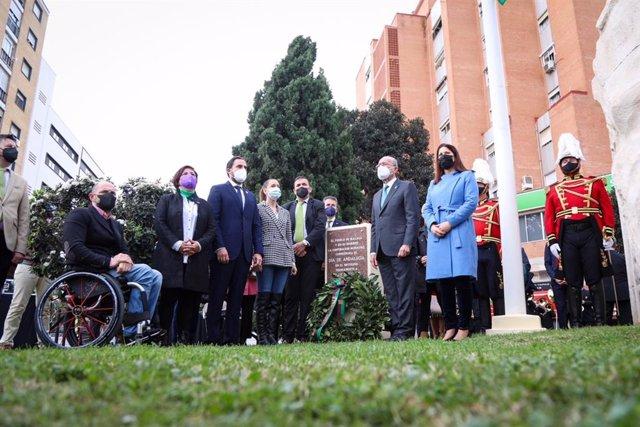Celebración del Día de Andalucía organizado por el Ayuntamiento de Málaga