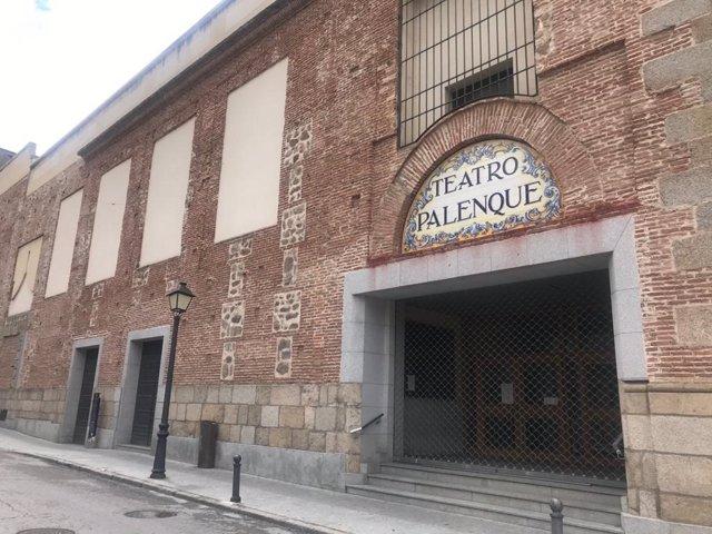 Archivo - Teatro Palenque, en Talavera de la Reina.