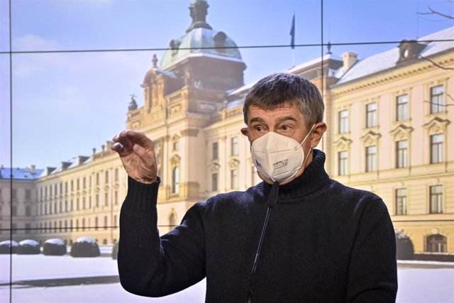 El primer ministro checo, Andrej Babis