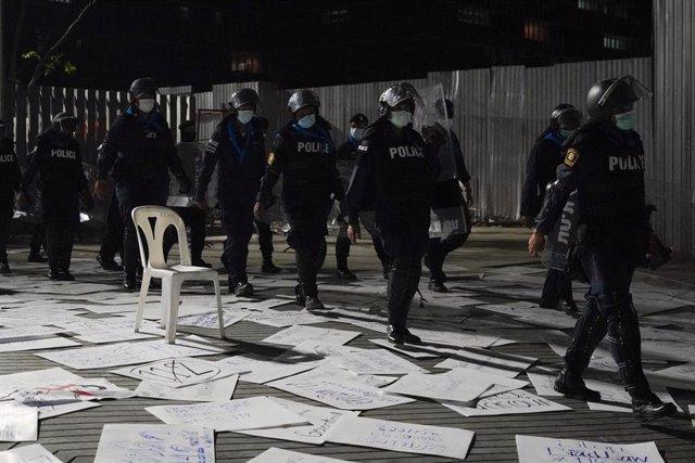 Protestes a Tailàndia contra el primer ministre del país