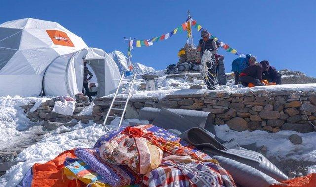 Expedición de Txikon al Manaslu