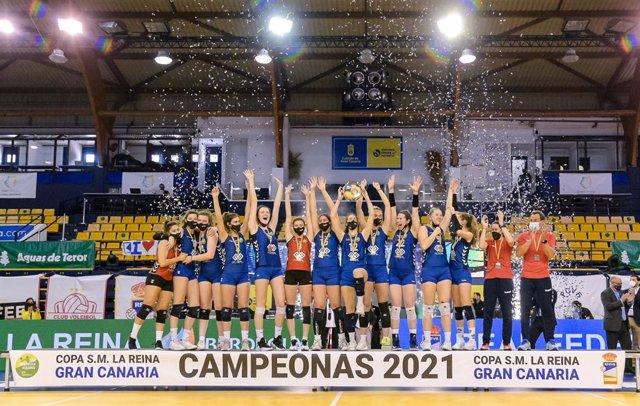 Feel Volley Alcobendas, campeón de la 46ª Copa de SM La Reina