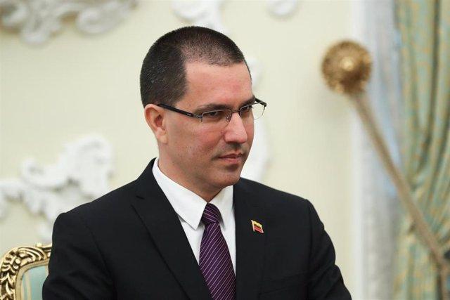 Archivo - El ministro de Relaciones Exteriores venezolano, Jorge Arreaza
