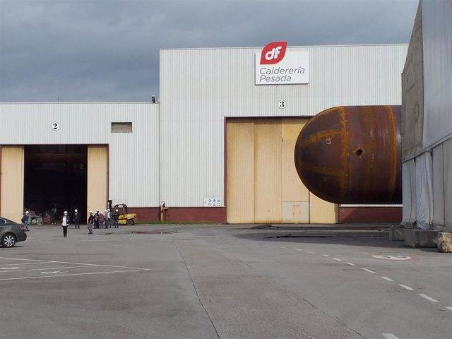 Archivo - Instalaciones de Duro Felguera, en Gijón