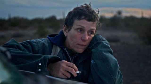 Frances McDormand protagonitza Nomadland