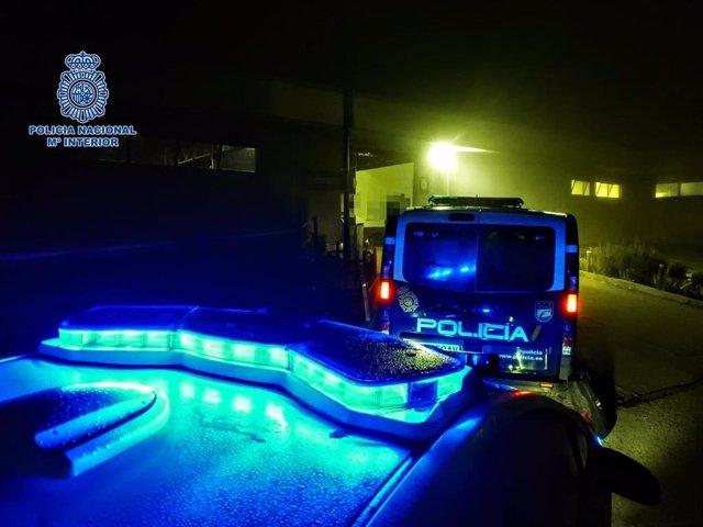 La Policía Nacional en una de las actuaciones de este fin de semana
