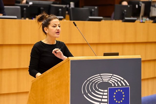 La eurodiputada Sira Rego, de Izquierda Unida