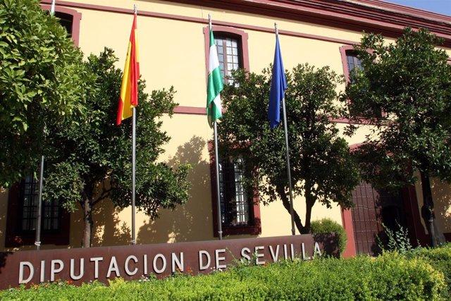 Archivo - Fachada de la Diputación de Sevilla