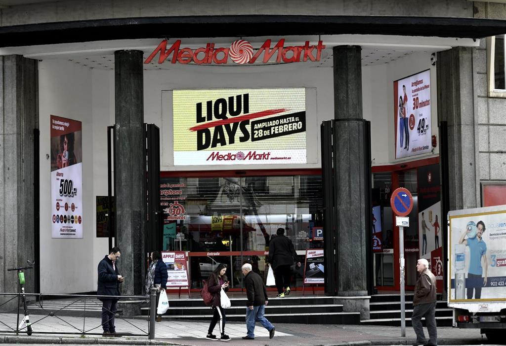 Competencia da 'luz verde' a la compra de 17 tiendas de Worten en España por MediaMarkt