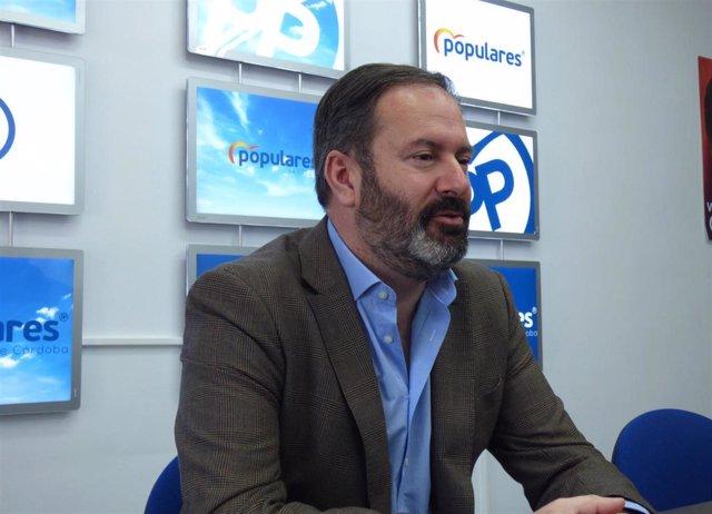 El presidente del PP de Córdoba y candidato a la reelección, Adolfo Molina.