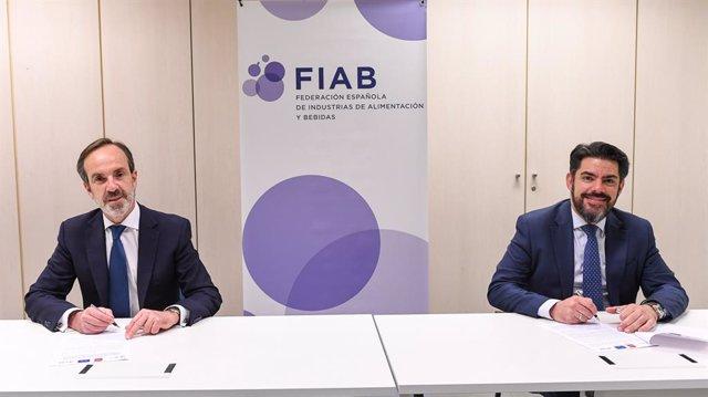 Firma de acuerdo entre FIAB y la Fundación de la UAM