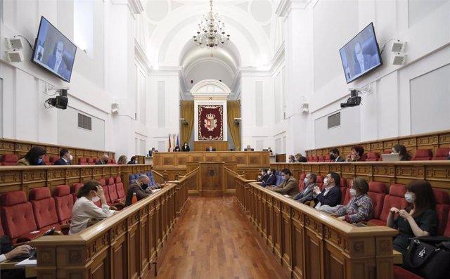 Pleno de las Cortes de C-LM.