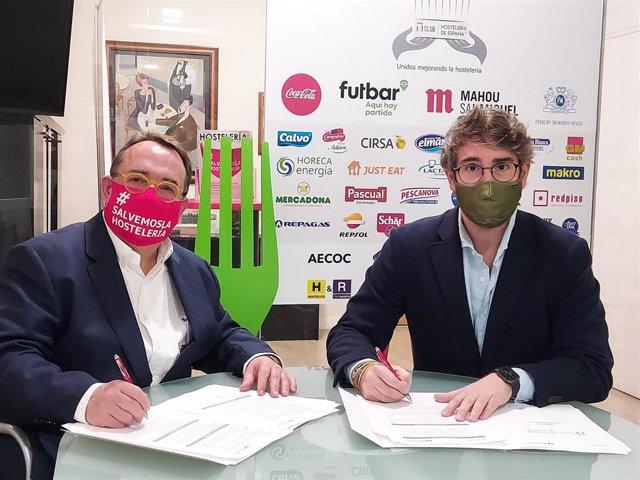 Acuerdo de Hostelería de España y la plataforma ElTenedor