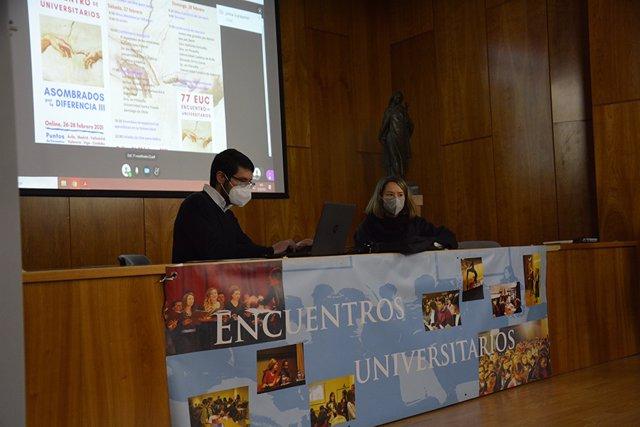 Encuentro universitario organizado por la UCAV, en el que han participado más de 300  personas.