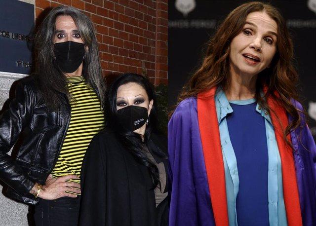 Alaska y Mario Vaquerizo defienden el negacismo de Victoria Abril