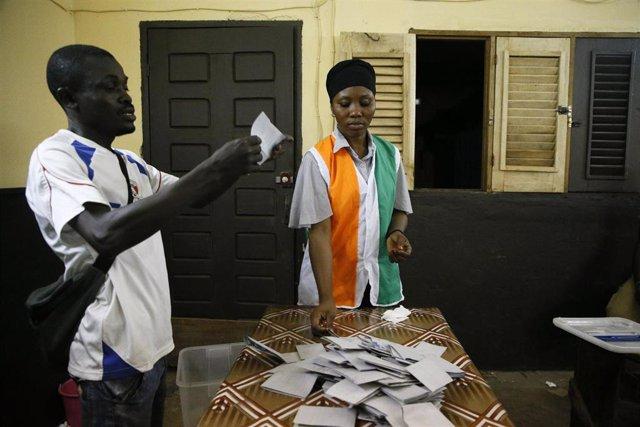 Archivo - Elecciones en Costa de Marfil
