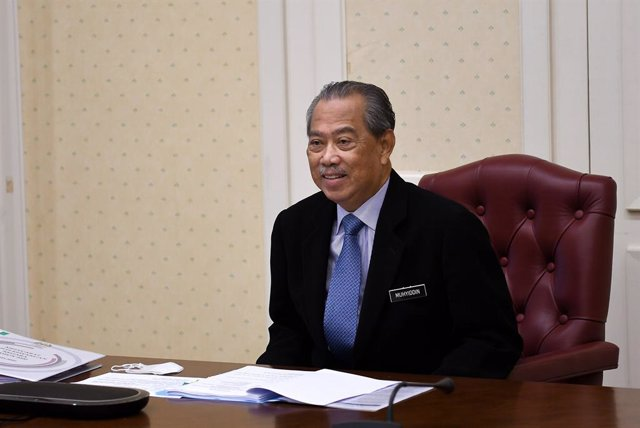 Archivo - El primer ministro malasio, Muhyidin Yasin.