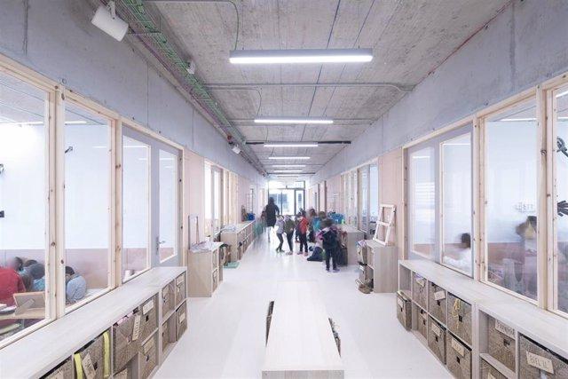 Archivo - Interior de la nueva Escola Anglesola