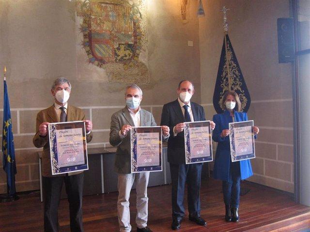 Presentación del pregonero de la Semana Santa de Badajoz