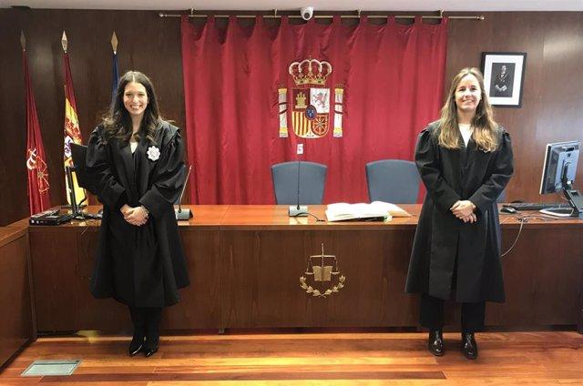El Tsjn Informa: Toman Posesión Dos Nuevas Juezas Destinadas En Pamplona Y Aoiz
