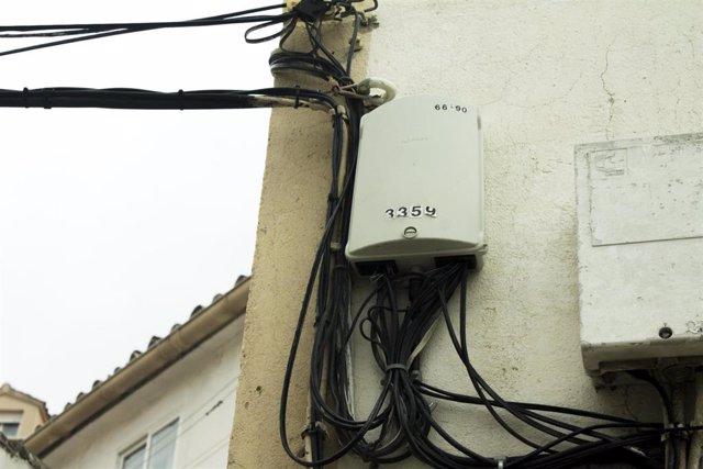 Cajetín ADSL