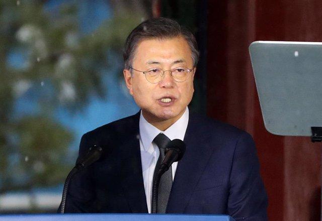 El presidente surcoreano, Moon Jae In.