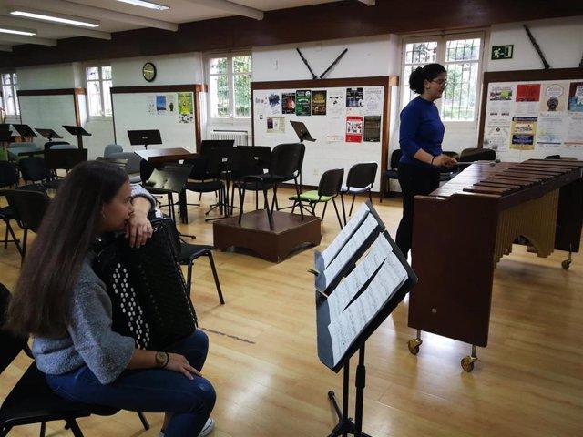 Aula del Conservatorio de Música de Barakaldo